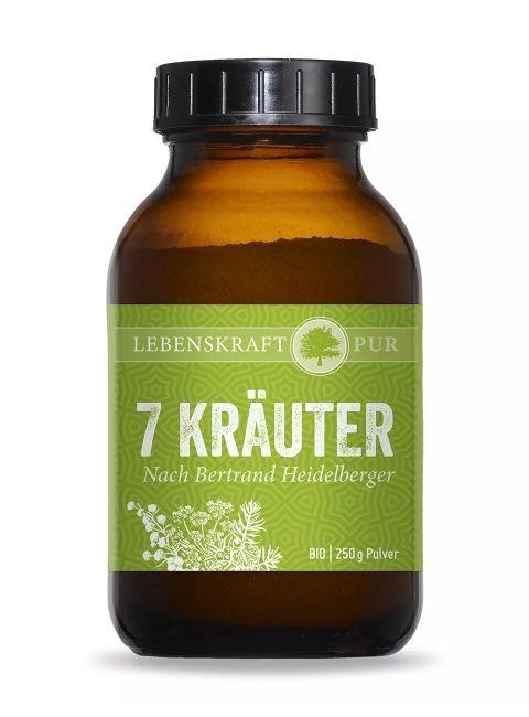 Bio 7 Kräuter nach Bertrand Heidelberger Produktbild von Lebenskraft Pur