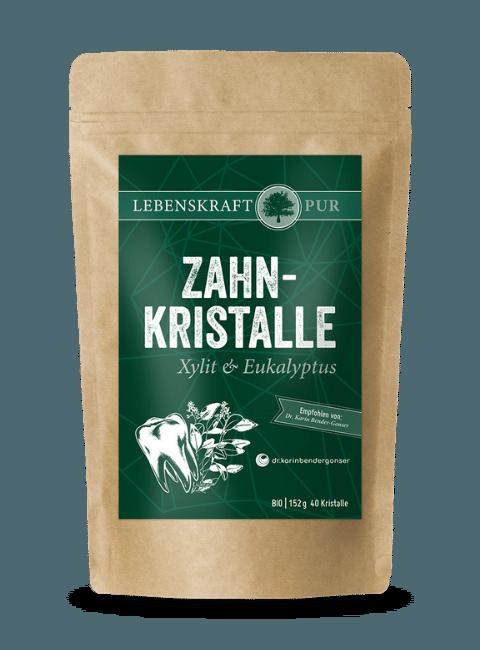 Bio Zahnkristalle Xylit & Eukalyptus von Lebenskraft Pur