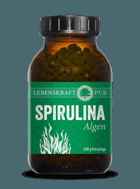 Spirulina Algen Produktbild von Lebenskraft Pur