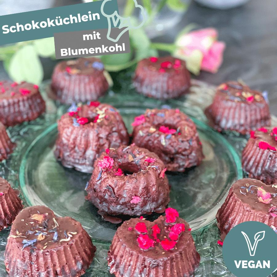 veganes Schokoküchlein