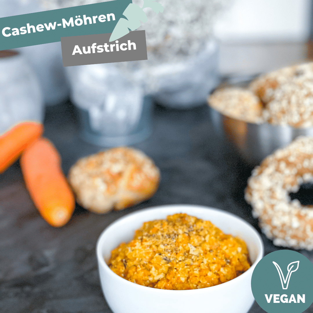 Cashew Möhren Aufstrich