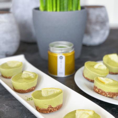 Matcha Kuchen ohne Backen